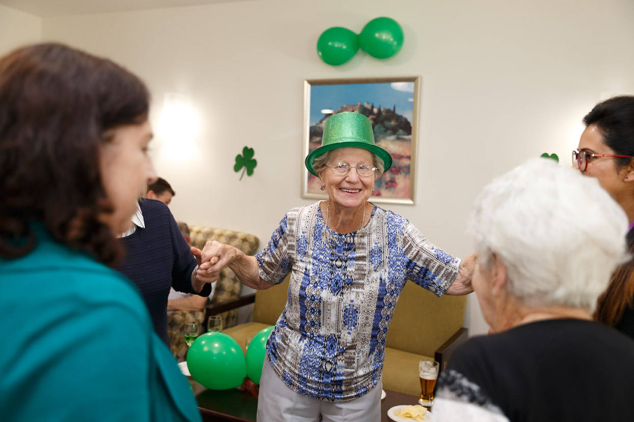 Mayflower Aged Care Residential Brighton East Reservoir Macleod St_Patricks_Day 3