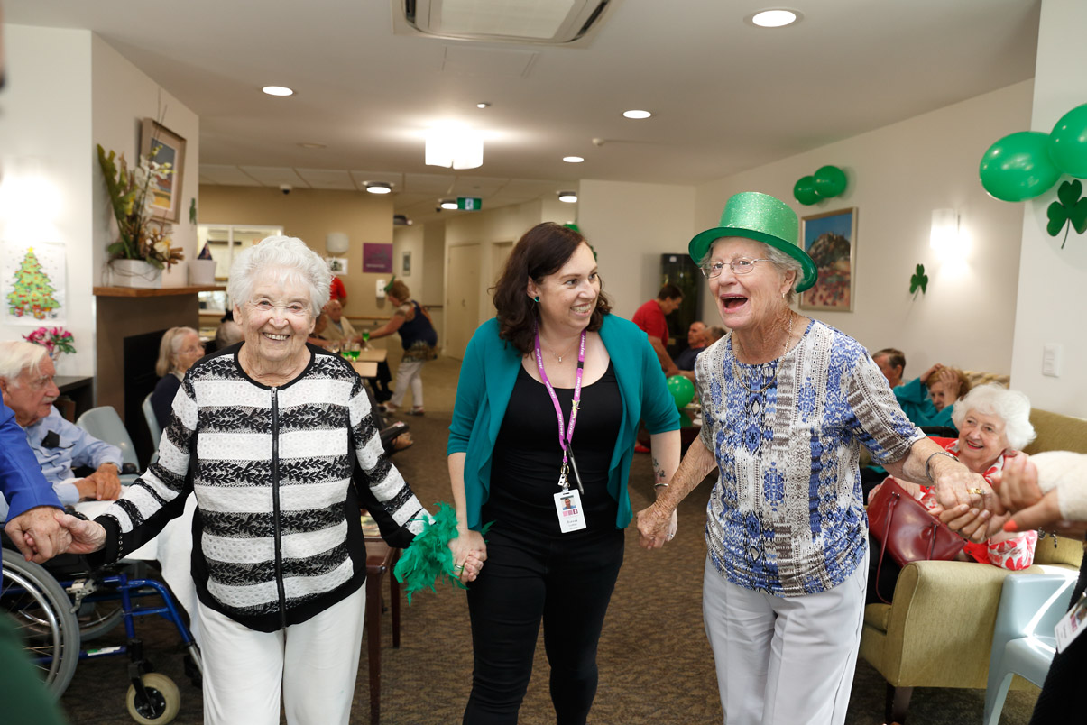 Mayflower Aged Care Residential Brighton East Reservoir Macleod St_Patricks_Day 4