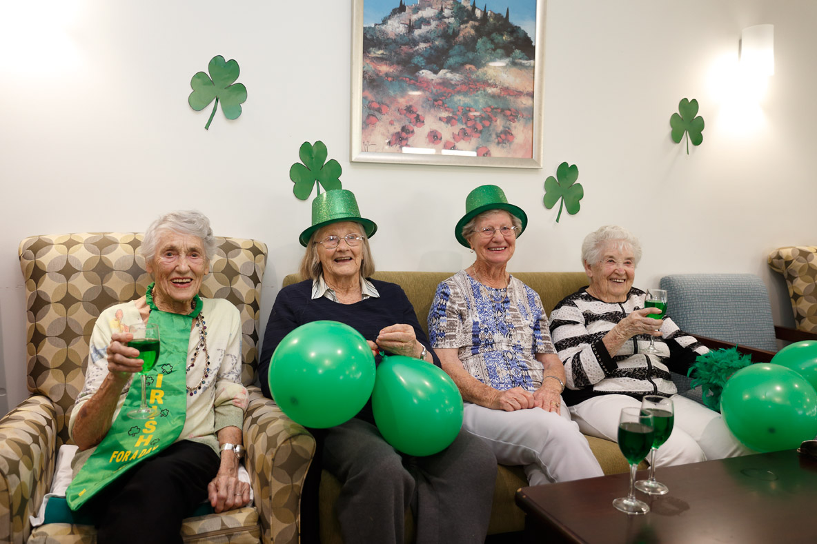 Mayflower Aged Care Residential Brighton East Reservoir Macleod St_Patricks_Day 7