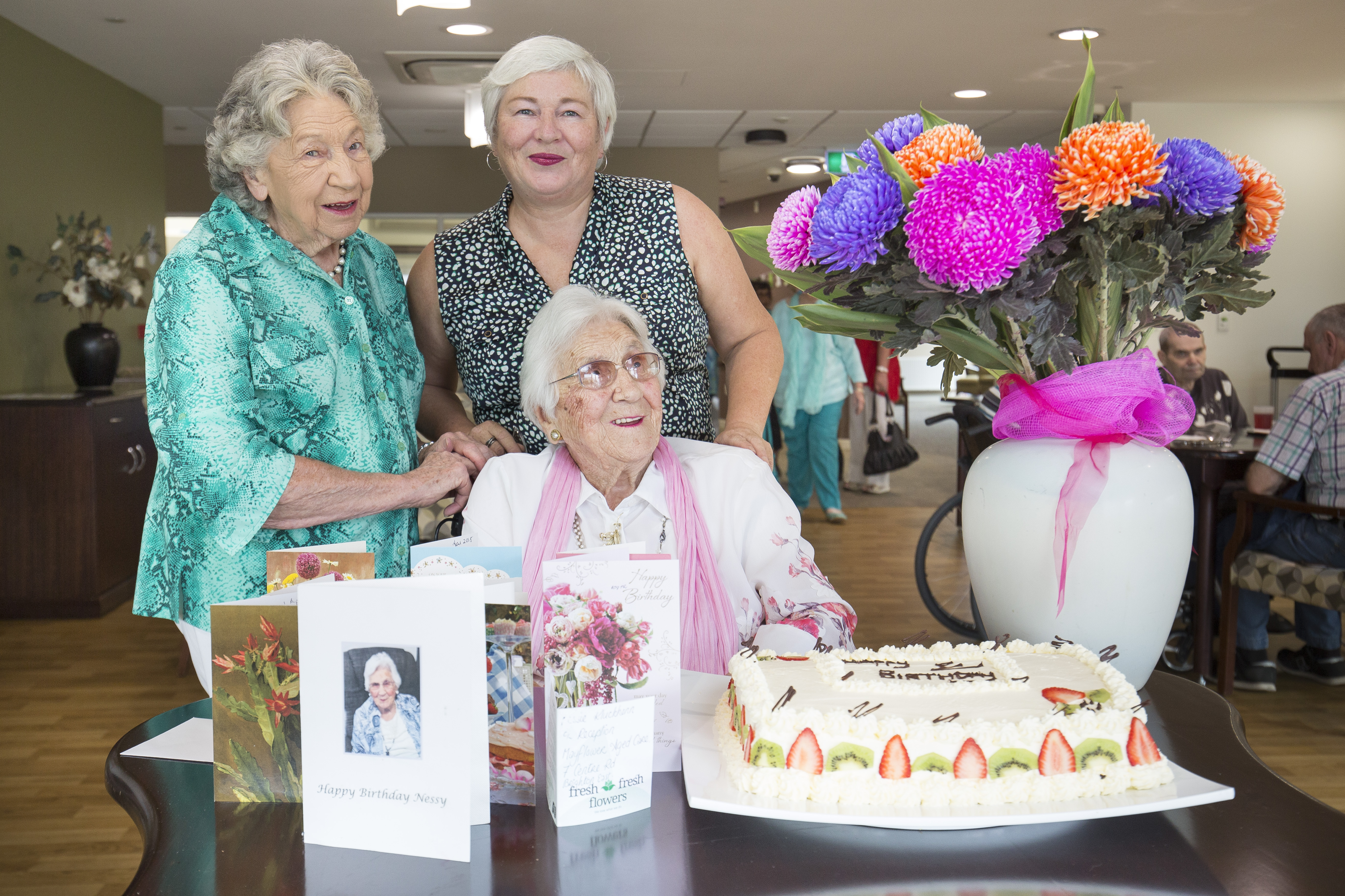 Nessie_109th_Birthday_Mayflower_Aged_Care_Residential_Retirement_Living_Brighton_Reservoir_Macleod_Victoria