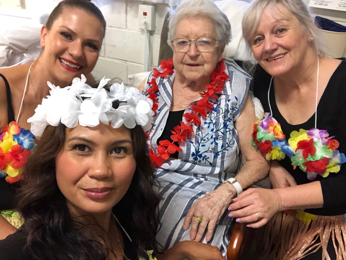 Hawaiian Day Mayflower Staff Normabennett Aged Care Residential Brighton Reservoir Macleod 2