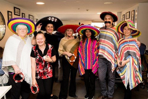 Mayflower Reservoir Aged Care Mexican Day WP 8953